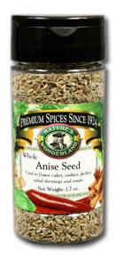 Anise Seed - Whole, 1.7 oz