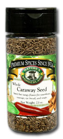 Caraway Seed - Whole, 2.1 oz