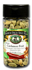 Cardamom Pods (Fruit), 1.7 oz