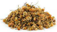 Chamomile, Whole, Organic, 4 oz (Matricaria chamomilla)