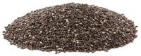Chia Seeds, Organic, Whole, 1 oz (Salvia hispanica)