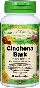 Cinchona Bark Capsules - 525 mg, 60 Vcaps™ (Cinchona succirubra)