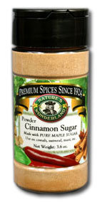 Cinnamon Maple Sugar - Granules, 3.6 oz
