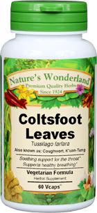 Coughwort, 60 Vcaps™ - 425 mg (Tussilago farfara)