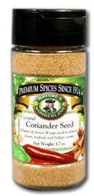 Coriander Seed - Ground, 1.7 oz