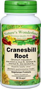 Cranesbill Capsules - 700 mg, 60 Veg Capsules (Geranium maculatum)