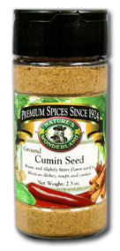 Cumin Seed - Ground, 2.3 oz jar