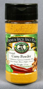 Curry Powder, 2.3 oz jar