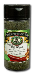 Dill Weed - Chopped, 0.8 oz
