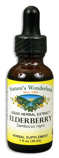 Elderberry Extract, 1 fl oz  / 30ml (Nature's Wonderland)