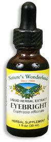 Eyebright Extract, 1 fl oz  / 30ml (Nature's Wonderland)