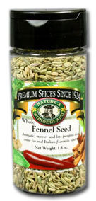 Fennel Seed - Whole, 1.8 oz