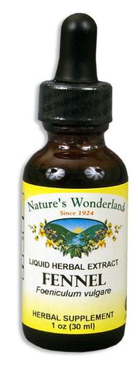 Fennel Extract, 1 fl oz / 30ml (Nature's Wonderland)