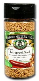 Fenugreek Seed - Whole, 3.3 oz