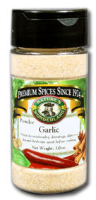 Garlic Powder,  3.0 oz