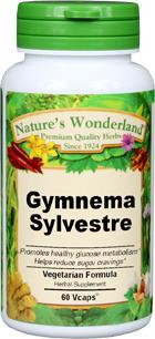 Gymnema Capsules - 550 mg, 60 Vcaps™ (Gymnema sylvestre)