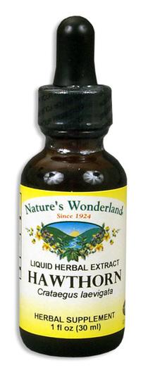 Hawthorn Berry Extract, 1 fl oz / 30ml (Nature's Wonderland)