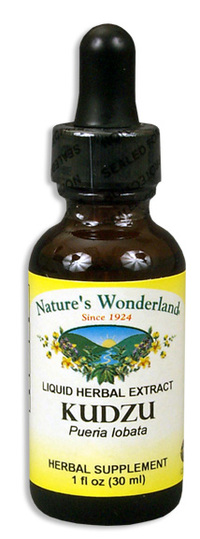 Kudzu Root Liquid Extract, 1 fl oz / 30ml (Nature's Wonderland)
