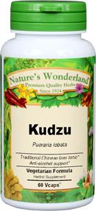 Kudzu Root Capsules - 575 mg, 60 Veg Capsules (Pueraria lobata)