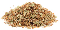 Linden Flowers and Leaves, Cut, Organic, 4 oz (Tilia spp.)