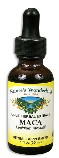 Maca Liquid Extract, 1 fl oz / 30ml  (Nature's Wonderland)