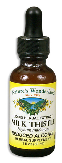 Milk Thistle Seed Extract, Reduced Alcohol, 1 fl oz / 30 ml  (Nature's Wonderland)