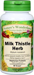 Milk Thistle Herb Capsules - 450 mg,  60 Vcaps™