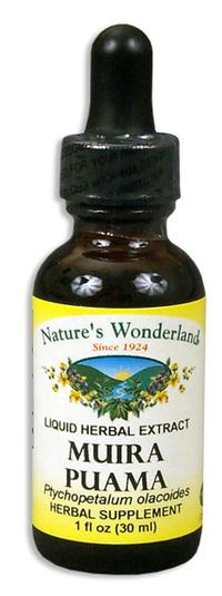 Muira Puama Extract, 1 fl oz / 30ml (Nature's Wonderland)