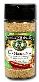 Mustard Seed, Black - Ground, 2.0 oz