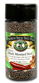 Mustard Seed, Black - Whole, 2.9 oz