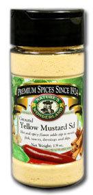 Mustard Seed, Yellow - Ground, 1.9 oz