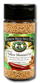 Mustard Seed, Yellow - Whole, 3.1 oz