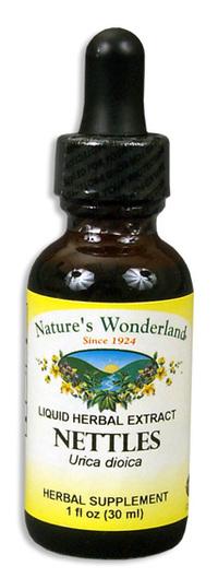 Nettle Leaf Extract, 1 fl oz / 30ml  (Nature's Wonderland)