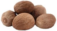 Nutmeg, Whole, 4 oz (Myristica moschata)