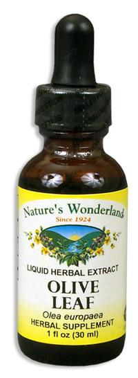 Olive Leaf Liquid Extract, 1 fl oz / 30ml (Nature's Wonderland)