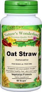 Oat Straw Capsules - 300 mg, 60 Vcaps™ (Avena sativa)