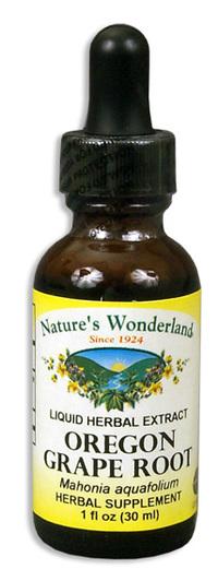 Oregon Grape Liquid Extract, 1 fl oz / 30 ml (Nature's Wonderland)