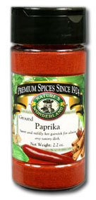 Paprika - Ground, 2.2 oz
