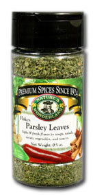 Parsley Leaves - Flakes, 0.5 oz