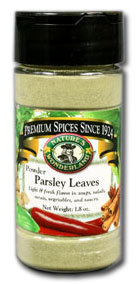 Parsley Leaves - Powder, 1.8 oz