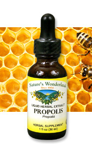 Propolis Liquid Extract, 1 fl oz / 30 ml  (Nature's Wonderland)