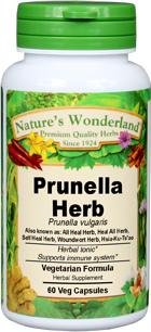 Prunella Capsules - 400 mg, 60 Veg Capsules (Prunella vulgaris)