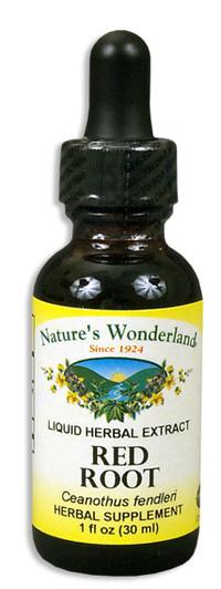 Red Root Liquid Extract, 1 fl oz / 30ml (Nature's Wonderland)
