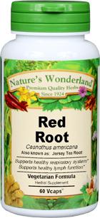 Jersey Tea Root Capsules - 575 mg, 60 Veg Capsules (Ceanothus americanus)