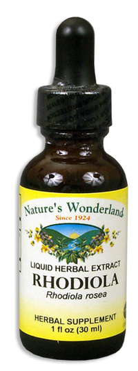 Rhodiola Liquid Extract, 1 fl oz / 30ml  (Nature's Wonderland)