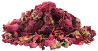 Rose Buds & Petals, Whole, 16 oz (Rosa gallica)