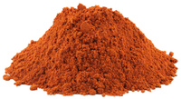 Safflower Flowers, Powder, 4 oz (Carthamus tinctorius)