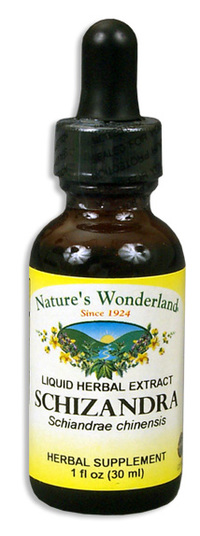 Schizandra Liquid Extract, 1 fl oz / 30ml  (Nature's Wonderland)