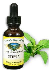 Stevia Liquid Extract, 1 fl oz / 30 ml (Nature's Wonderland)