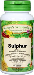 Brimstone Capsules - 1175 mg, 60 Vcaps™ (Sulfur USP)